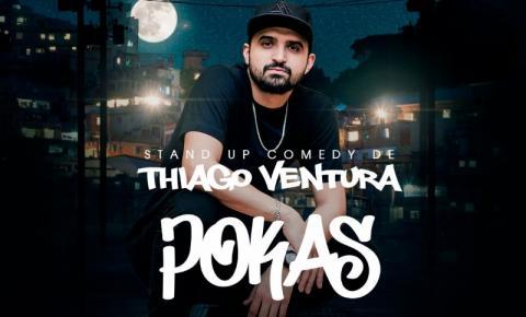 Humorista Thiago Ventura se apresenta no Manoel Lyra em Santa Bárbara neste sábado