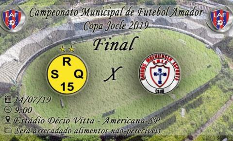 São Roque e Unidos da Mathiensen disputam a final do campeonato neste domingo.