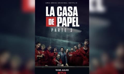 Terceira temporada de La Casa de Papel chega à Netflix nesta sexta