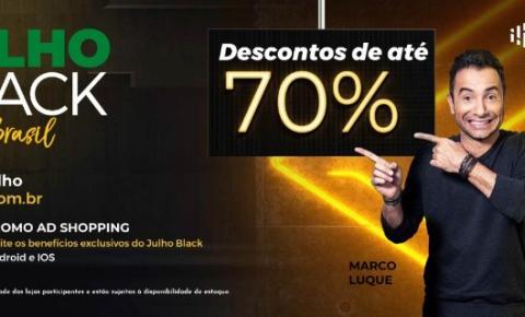 Julho Black chega ao Tivoli Shopping com descontos de até 70%
