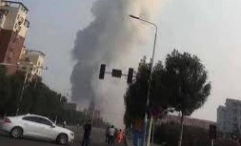 Explosão em usina de gás na China deixa ao menos 10 mortos