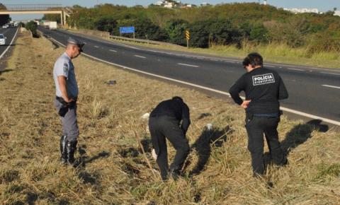 Corpo é encontrado no canteiro da SP-304 em S. Bárbara