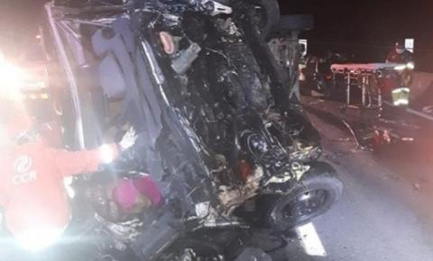 Acidente com van do Sampa Crew deixa um morto e 8 feridos na Rodovia dos Bandeirantes