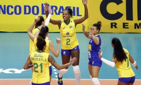 Com retorno de veteranas, seleção brasileira feminina vence Argentina em amistoso