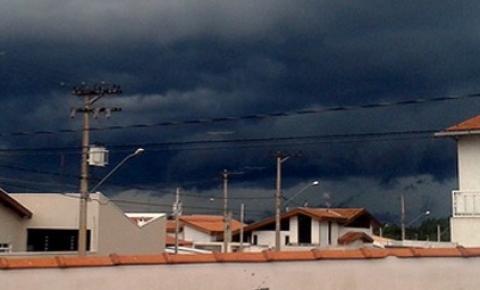 Fortes chuvas podem atingir a Região no domingo