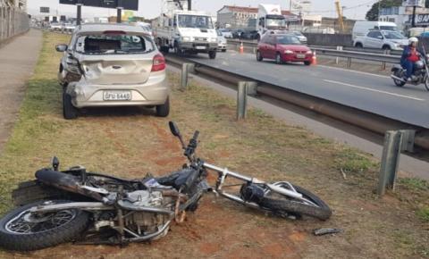 Motociclista morre em acidente na Anhanguera em Sumaré