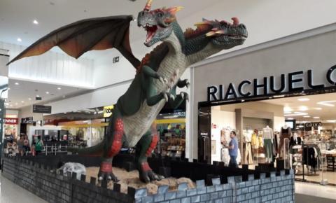 Dragões 'invadem' Tivoli Shopping em S. Bárbara
