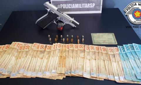 Homem é detido com arma no Jardim Icaraí em Santa Bárbara