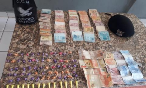 Chefe do tráfico escondia drogas em recicláveis em S. Bárbara
