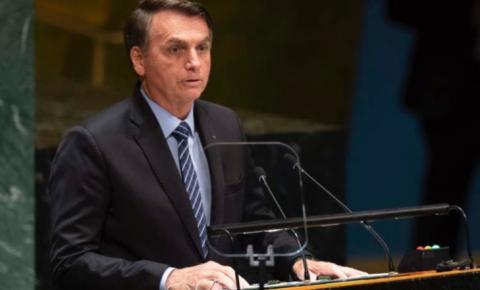 Estabelecemos agenda para resgatar papel do Brasil no mundo, diz Bolsonaro na ONU