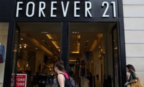 Rede varejista Forever 21 anuncia pedido de falência nos Estados Unidos