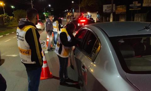 Programa Direção Segura autua 9 motoristas em Sumaré