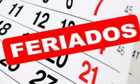 Número de feriados nacionais prolongados vai dobrar em 2020