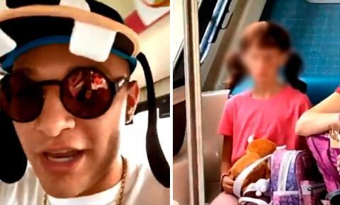 'Não fiz bullying', diz MC Gui sobre vídeo em que ri de criança