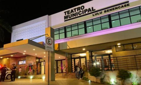 Após obra de reforço do palco, Teatro Municipal reabre nesta sexta