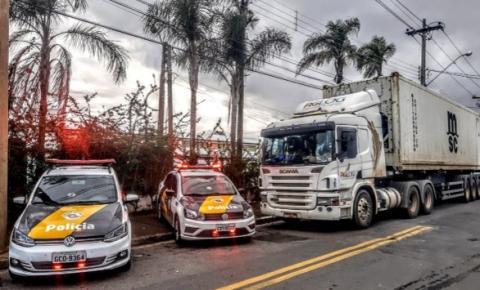 Polícia Militar Rodoviária recupera carga avaliada em R$ 270 mil