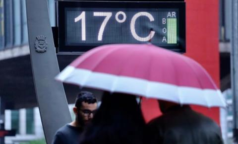 Frente fria muda o tempo na região a partir de amanhã
