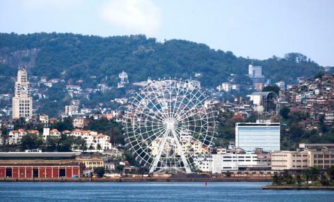 Com 88 metros de altura, Rio inaugura maior roda-gigante da América Latina