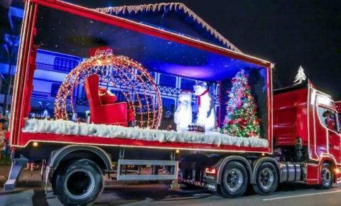 Caravana de Natal da Coca-Cola tem horário alterado