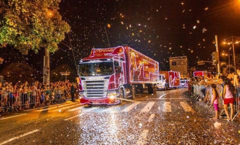 Caravana de Natal da Coca-Cola passará hoje por Americana e S. Bárbara