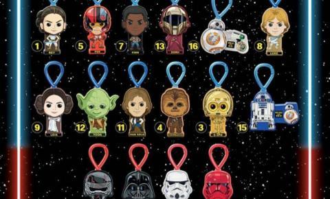 McLanche Feliz tem brinquedos de Star Wars: A Ascensão Skywalker