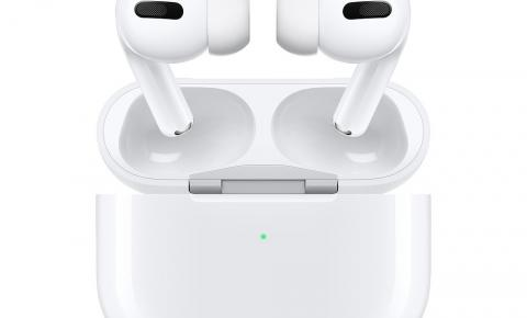 Fone de ouvido AirPods Pro chega ao Brasil