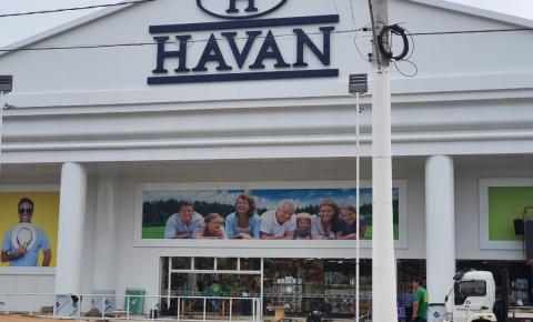 Loja Havan de Sumaré será inaugurada neste sábado