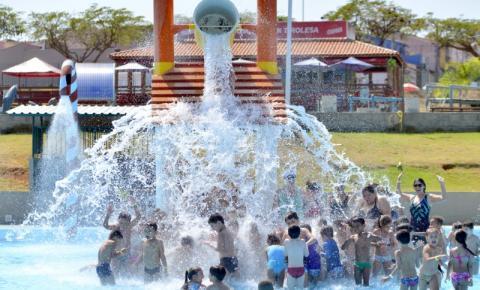 Indaiatuba tem parque aquático gratuito para moradores da região