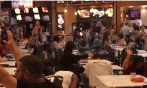 Clientes confundem ação evangélica com arrastão em Shopping em Campinas