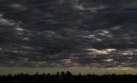 Região poderá ter acumulado de chuva nas próximas 24h