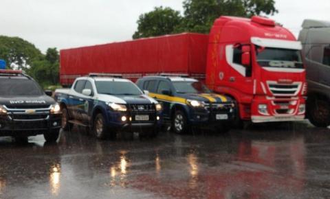 Dois caminhoneiros foram roubados e mantidos em cárcere privado em Americana.