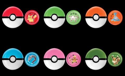 McLanche Feliz tem brinquedos de Pokémon