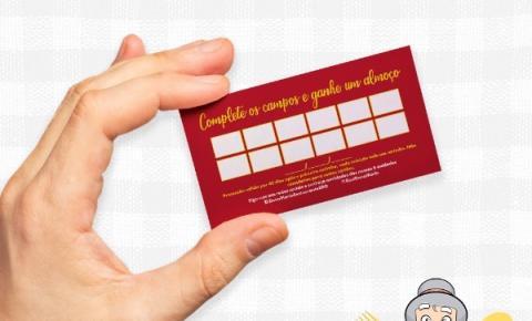 Restaurante Dona Maria lança Cartão Fidelidade