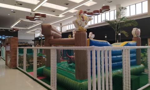 Kids Park Fazendinha garante diversão para os pequenos no Tivoli Shopping