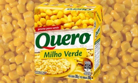 Empresa anuncia recall de milho verde em caixinha