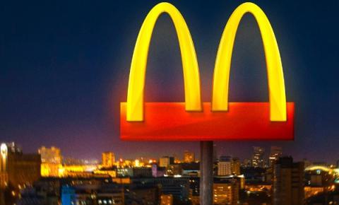 Unidades do McDonalds fecham a partir de segunda-feira