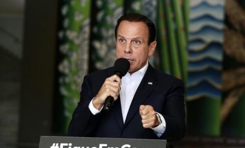 Doria prorroga quarentena até 10 de maio nas cidades paulistas