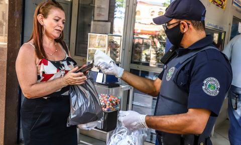 50 mil máscaras doadas serão distribuídas aos barbarenses