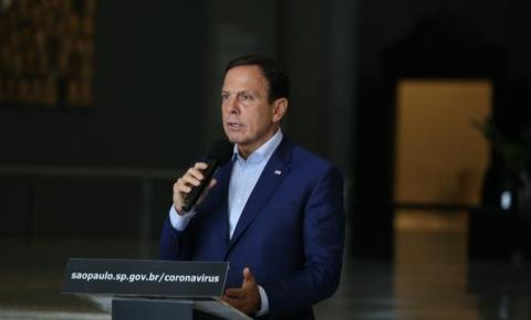 Doria anuncia reabertura gradual das atividades no estado de SP a partir de 11 de maio