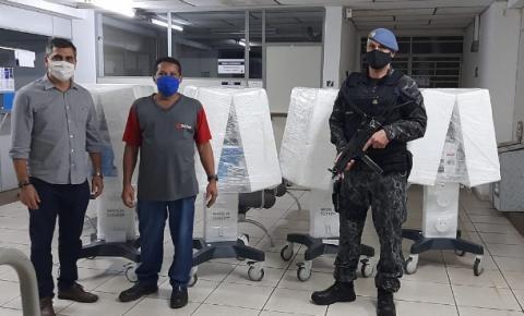 Americana recebe cinco novos respiradores do Governo Estadual