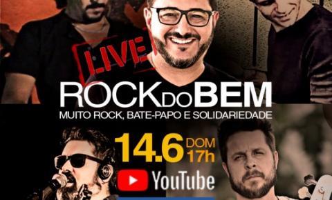 Rock do Bem: Live solidária inédita tem meta ousada para ajudar artistas da região