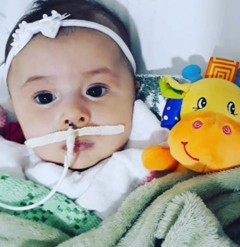 Morre Aysha, a bebê americanense que precisava de remédio de R$ 12 milhões