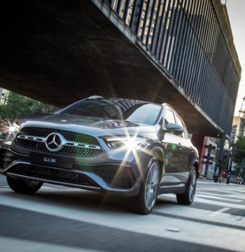Chega ao Brasil a nova geração do Mercedes-Benz GLA