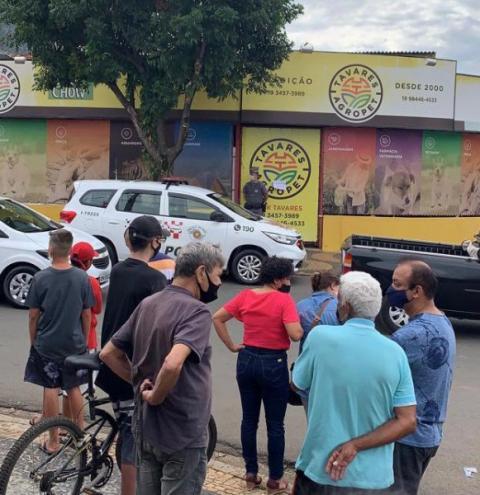 Ladrão tenta roubar agropecuária na Cidade Nova e morre enforcado