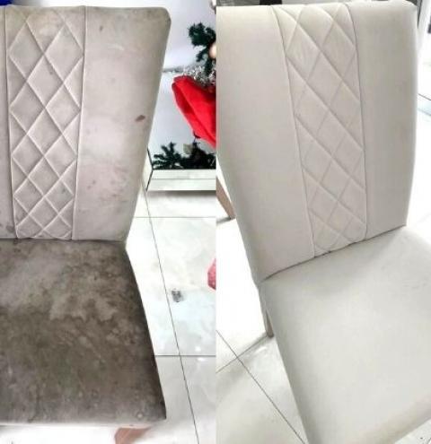 Empresa de higienização de sofás e cadeiras realiza promoção na região