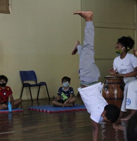 Estação Cultural terá Roda de Capoeira no domingo