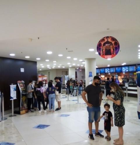 Tivoli Shopping tem sessão de cinema por R$10