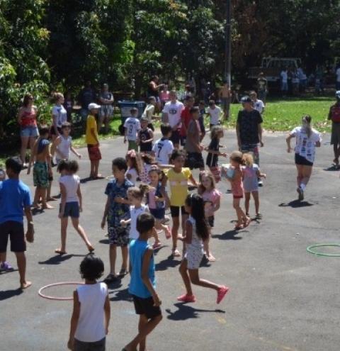 Instituto Jr Dias promove gincana em comemoração ao Dia das Crianças