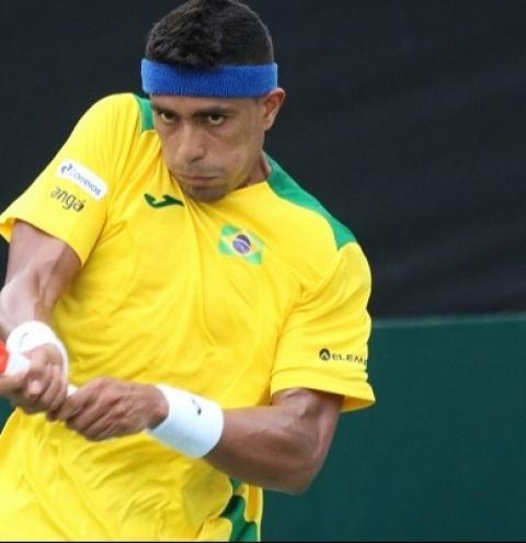 Thiago Monteiro perde e Colômbia empata com o Brasil no Zonal da Copa Davis