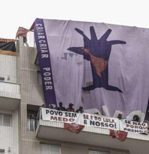 Em janeiro, Lula sugeriu que militantes ocupassem o tríplex do Guarujá